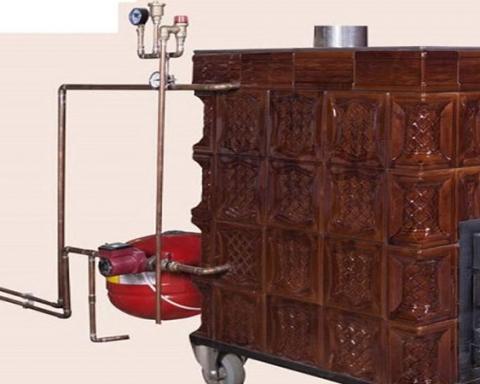 centrala termica in soba de teracota