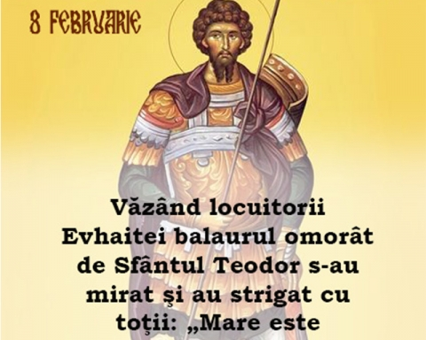 Sfântul Mare Mucenic Teodor Stratilat