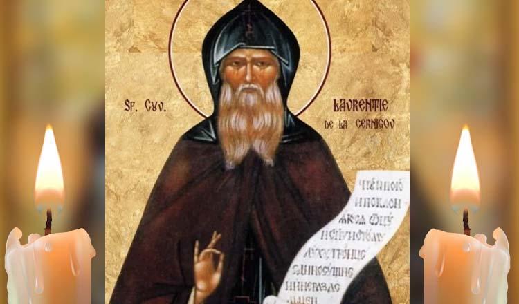 Rugăciune către Sfântul Cuvios Lavrentie de Cernigov