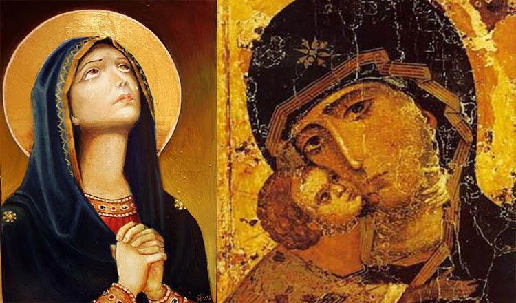 două rugăciuni către Maica Domnului