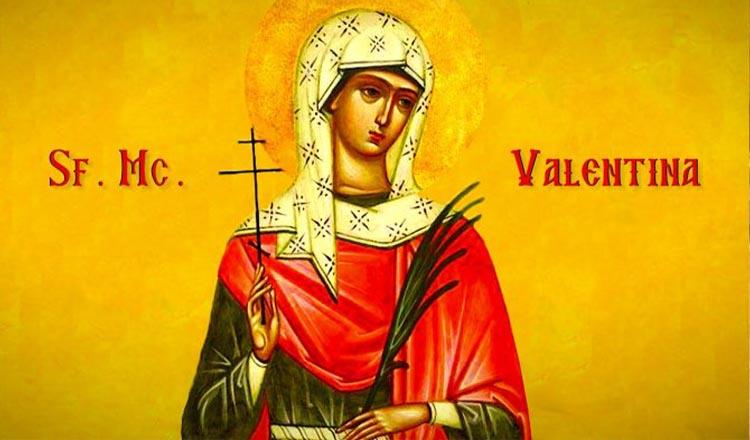 10 februarie Sfanta Valentina